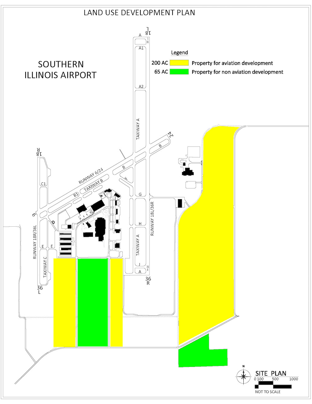 Tech Park | Southern Illinois Airport - 20160829 Land Use Plan
